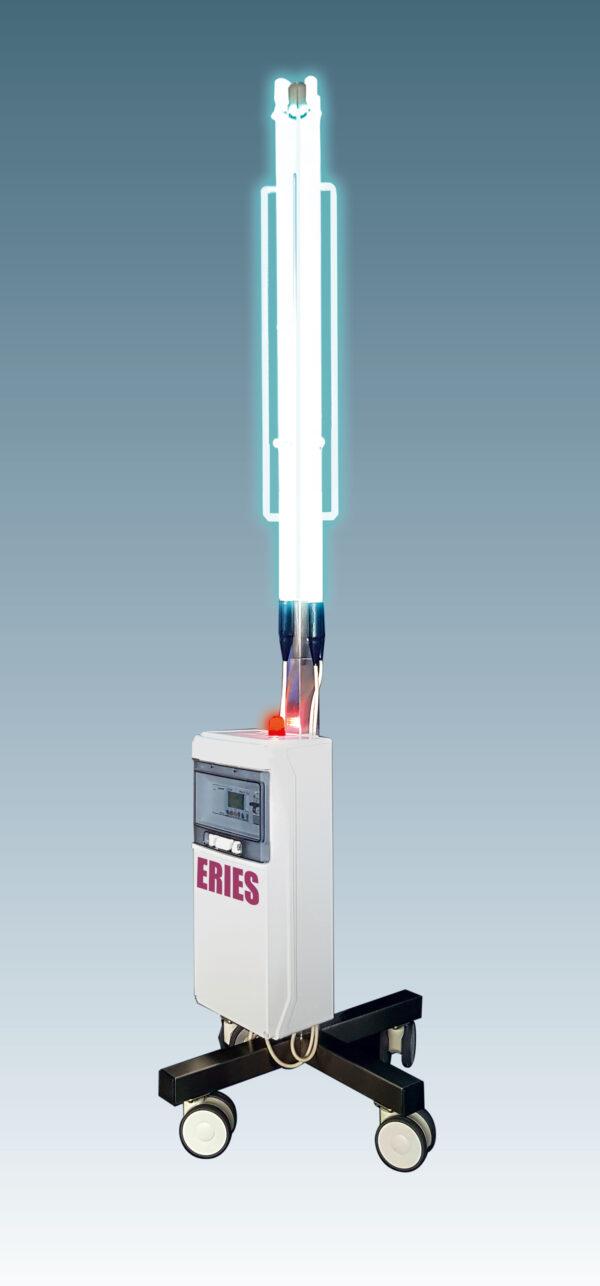 Appareil mobile de désinfection par rayonnement UV
