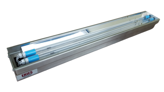 Distributeur de lampes à rayonnement UVC pour traitement germicide